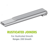 Buy Weathertex 200mm Rusticated Smooth Joiner - Pack Of 25 at Megatimber