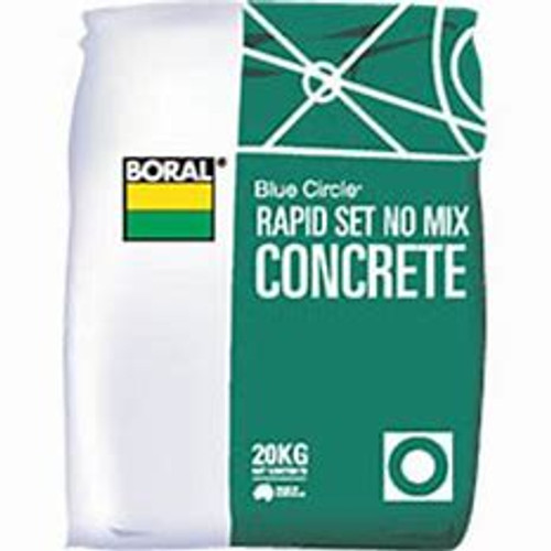 Megatimber Buy Timber Online  Rapid Set No-Mix Concrete 20kg CRS20