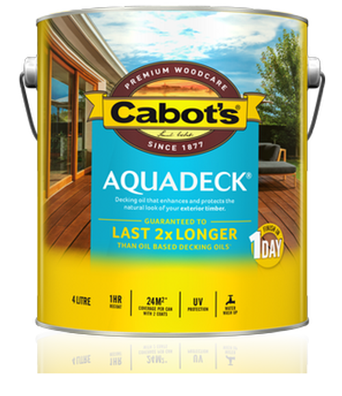 Megatimber Buy Timber Online  Cabots Aquadeck Natural Exterior Decking Oil