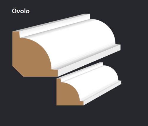 Ovolo F/J Pine Moulding 5.4m Length