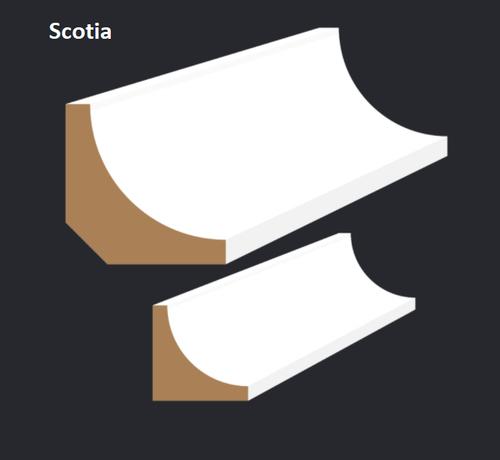 Megatimber Buy Timber Online  Scotia F/J Pine Moulding 5.4m Length S50