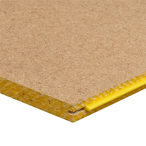 Megatimber Buy Timber Online  STRUCTAflor Yellow Tongue Particle Board Flooring  Sheets - 19mm x 3600 x 800 YTF368