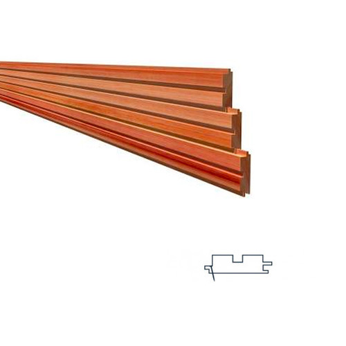 Megatimber Buy Timber Online  Cedar Cladding 81 x 26mm Castelation
