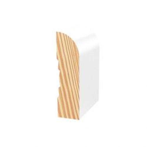 Primed Pine F/J Architrave Bullnose 66 x 18 x 5.4m