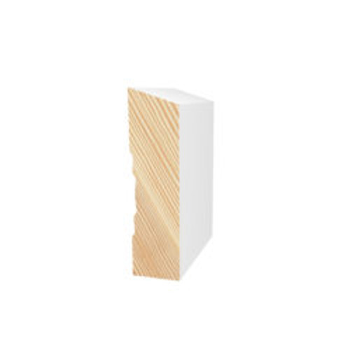 Megatimber Buy Timber Online  PRIMED PINE F/J BEVEL ARCHITRAVE 90 x 18 x 5.4m PBEV1002
