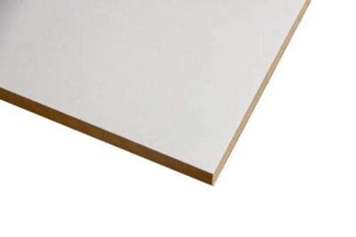 PARTICLE BOARD MELAMINE WHITE HMR 2400 x 1200 x 16mm