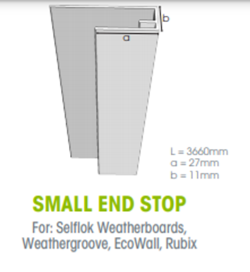 Buy Weathertex Small End Stop 3660mm Online at Megatimber