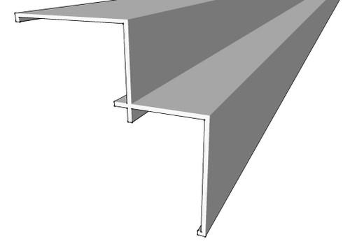Megatimber Buy Timber Online  Weathertex Small Internal Aluminium Corner 3660mm 55907