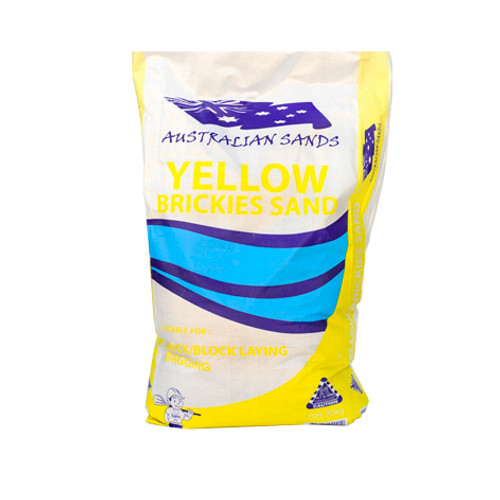 Yellow Brickies Sand 20kg Bag  Buy Online at Megatimber