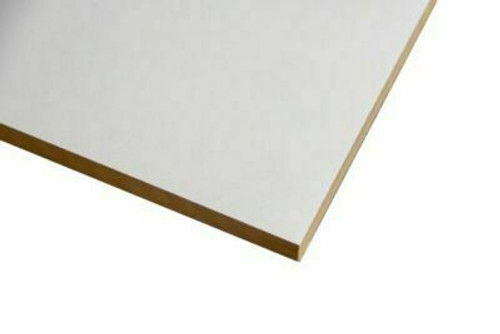 Buy White Melamine Particle Board 1800 x 595 x 16 Online with Megatimber