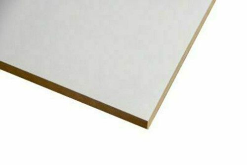 Buy White Melamine Particle Board 2400 x 295 x 16mm Online with Megatimber