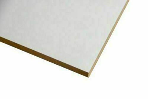 Buy White Melamine Particle Board 2400 x 445 x 16mm Online with Megatimber