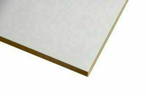 Buy White Melamine Particle Board 2400 x 595 x 16mm Online with Megatimber