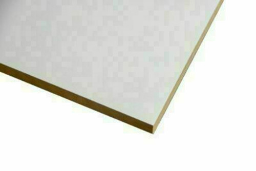 Buy White Melamine Particle Board 3600 x 445 x 16mm Online with Megatimber