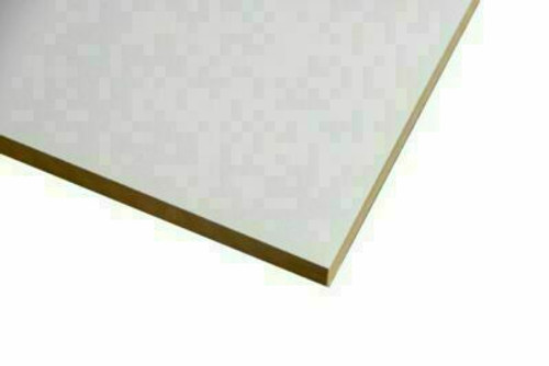 Buy White Melamine Particle Board 3600 x 595 x 16mm Online with Megatimber