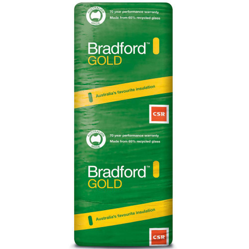 Buy Bradford  Gold Wall Batts 1160 x 430 - R1.5 - 22 Pack Online at Megatimber