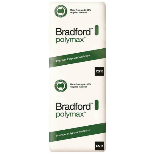 Buy Bradford  Polymax Insulation Wall Batts 1160 x 580- R3.5 - 8 Pack Online at Megatimber