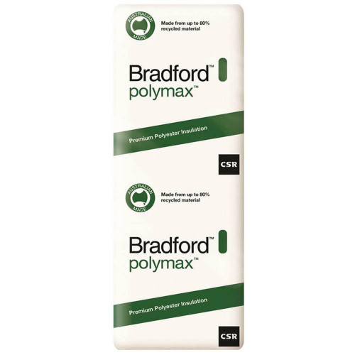 Buy Bradford  Polymax Insulation Wall Batts 1160 x 430 - R1.5 - 16 Pack Online at Megatimber