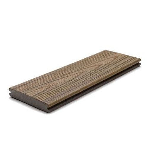Trex Composite Grooved Decking Boards 140 mm x 25 mm x 5480mm Havana Gold