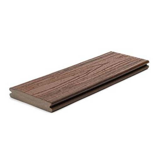 Trex Composite Grooved Decking Boards 140 mm x 25 mm x 6096mm Lava Rock