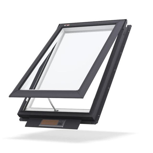 Buy Velux Solar Opening Skylight Pitched Roof 15-90⁰ S01 - 1140 x 700mm Online at Megatimber