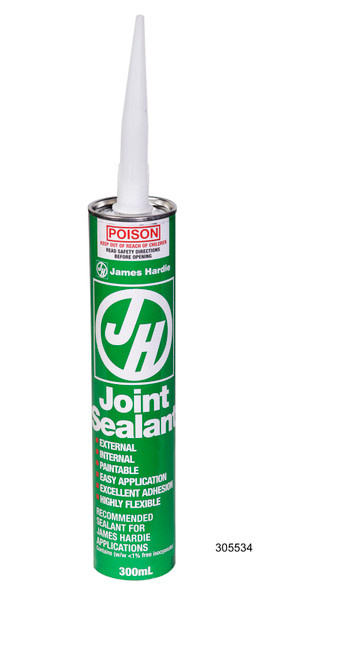 Megatimber Buy Timber Online  JAMES HARDIE JOINT SEALANT 300M HARDIES 288454