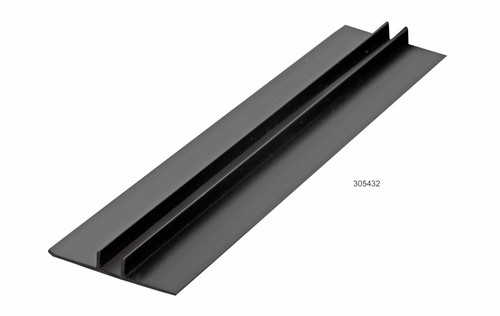 Megatimber Buy Timber Online  JAMES HARDIE JOINTER EAVES PVC 6mm 3.0M BLACK 305432