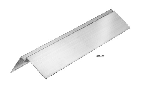 Megatimber Buy Timber Online  HARDIE ALUMINIUM CORNER 9mm 3m INTERNAL 305520