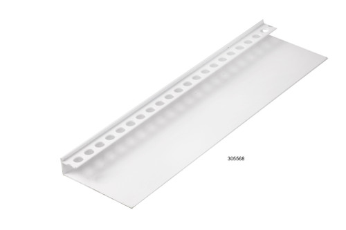 Megatimber Buy Timber Online  JAMES HARDIE STARTER STRIP 7.5mm PVC 3.0m 305568