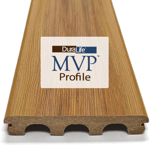 Duralife MVP Decking Profile 138 x 23mm 5.4m Lengths