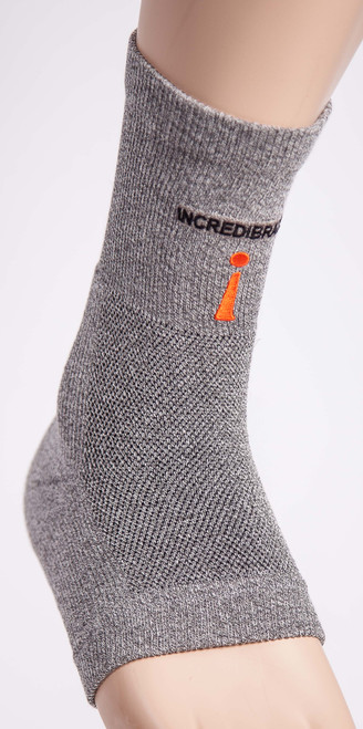 Take the edge off of Plantars and painful twisted ankles by increasing blood flow with the Incrediwear ankle brace. Reduces swelling and pain!