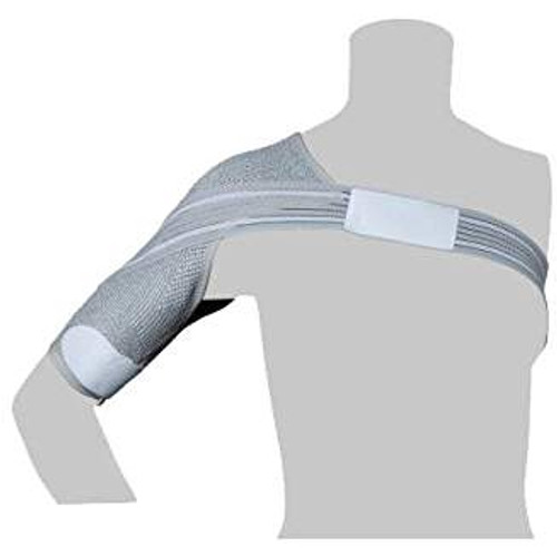 For those experiencing pain and limited mobility in the shoulder(s), the Incrediwear Shoulder Brace relieves pain and accelerates recovery for acute or chronic shoulder injuries. The Shoulder Brace can be worn during and after activity to provide pain relief and post-activity recovery without restricting mobility.