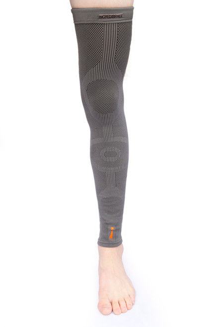 For serious leg injuries or swelling reduction, the Incrediwear leg sleeve is germanium infused to radically provide increased full leg circulation benefits!
