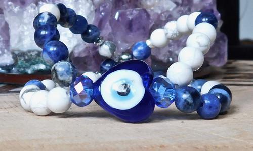 Eye of Protection Twisted Bracelet I