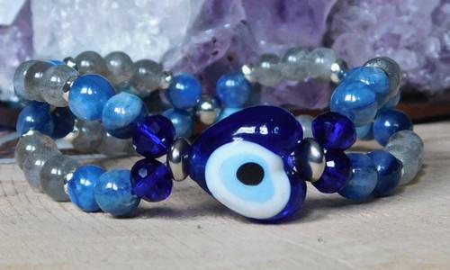Eye of Protection Twisted Bracelet II
