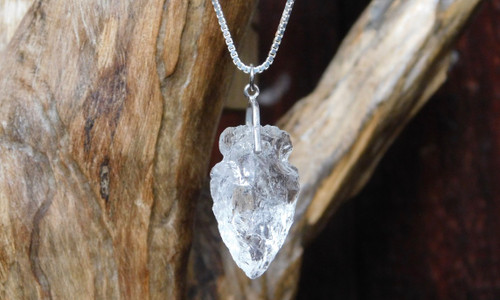 Clear Quartz Arrowhead