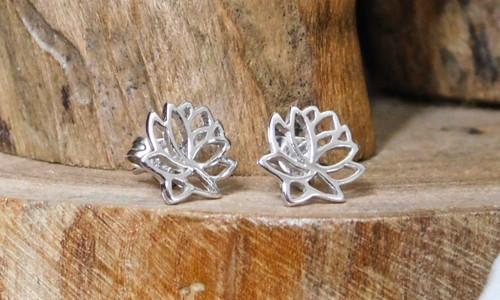 Lotus Flower Earring