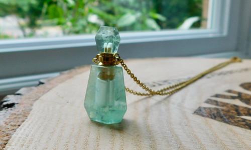 Crystal Bottle Necklace