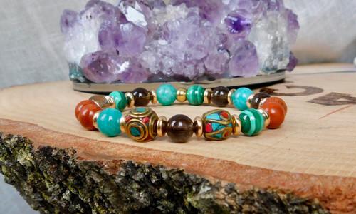 Tibetan Beads Bracelet