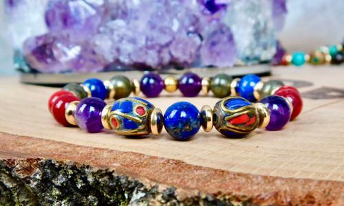 Tibetan Beaded Bracelet III