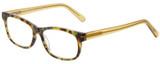 Profile View of Eyebobs Bob Frapples Reading Glasses Light Tort Havana Brown Gold Crystal 55 mm