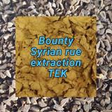 Syrian rue extraction: Bounty TEK
