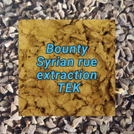 Syrian rue extraction: Bounty TEK