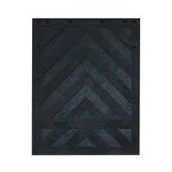 MUD FLAP, BLACK RUBBER 24 X 30