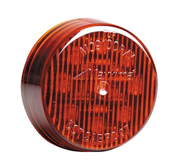 "Maxxima M09100R 9 LED Red 2"" Round Clearance Marker Light"