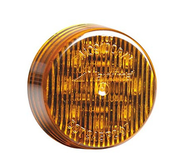 "Maxxima M09100Y 9 LED Amber 2"" Round Clearance Marker Light"