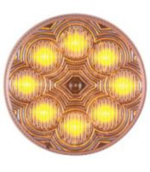 2 1/2 AMBER LED MARKER LAMP - M16280Y