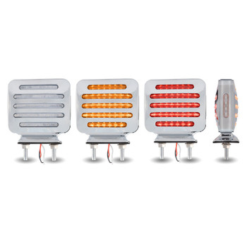 TRUX CLEAR AMBER/RED MARKER LED-TLED-FSC