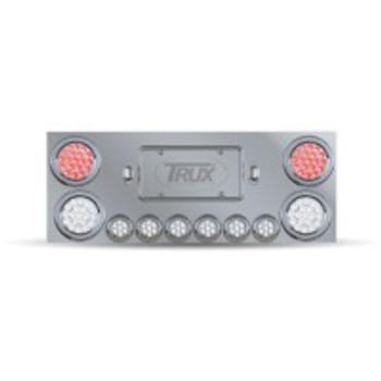 TRUX Stainless Steel Rear Center Panel- TU-9001L2