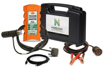 NOREGON TRAILER Diagnostic ADAPTER KIT W/POWER-122511
